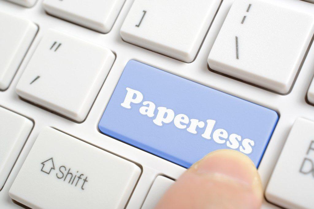 paperless key in keyboard