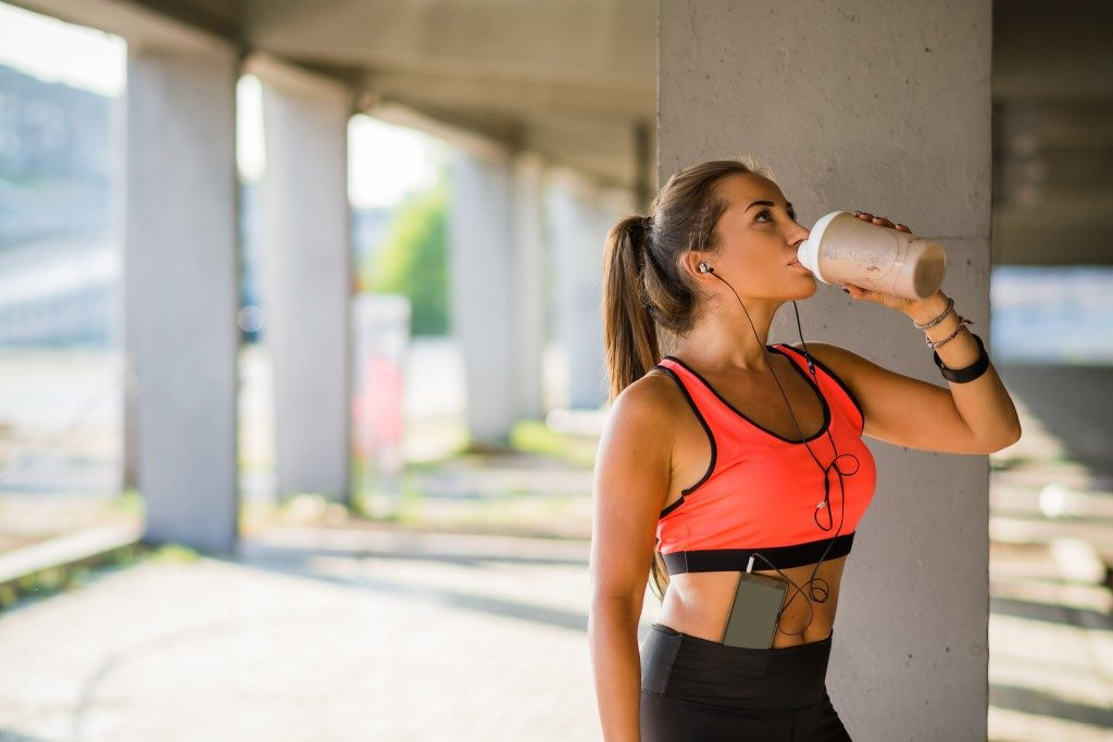 Sports drink image