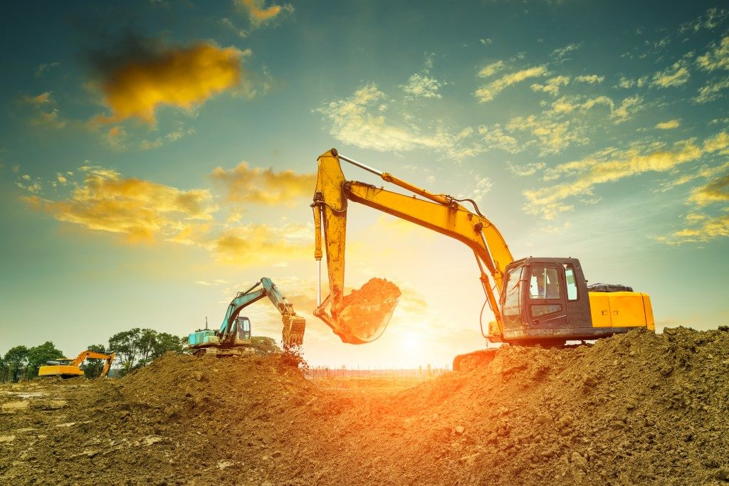 machines for excavation