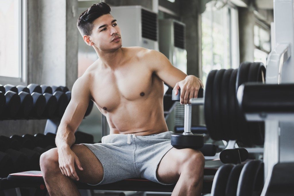 a fit man