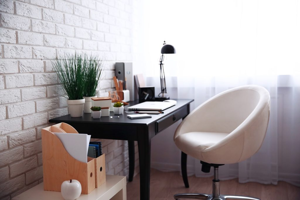well decorated work space