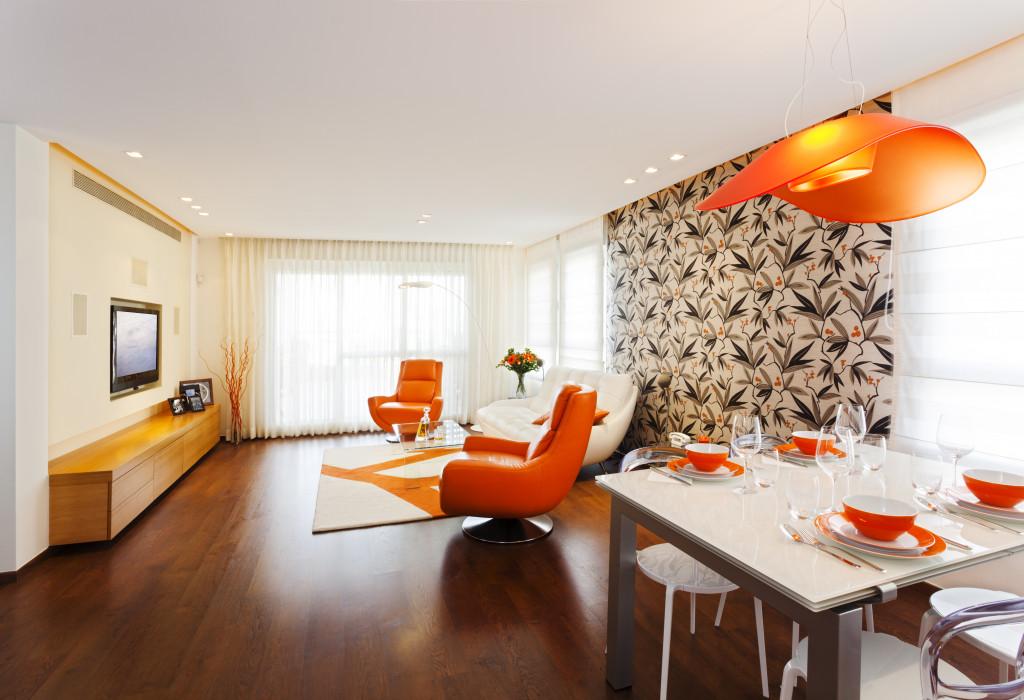 interior design with furniture