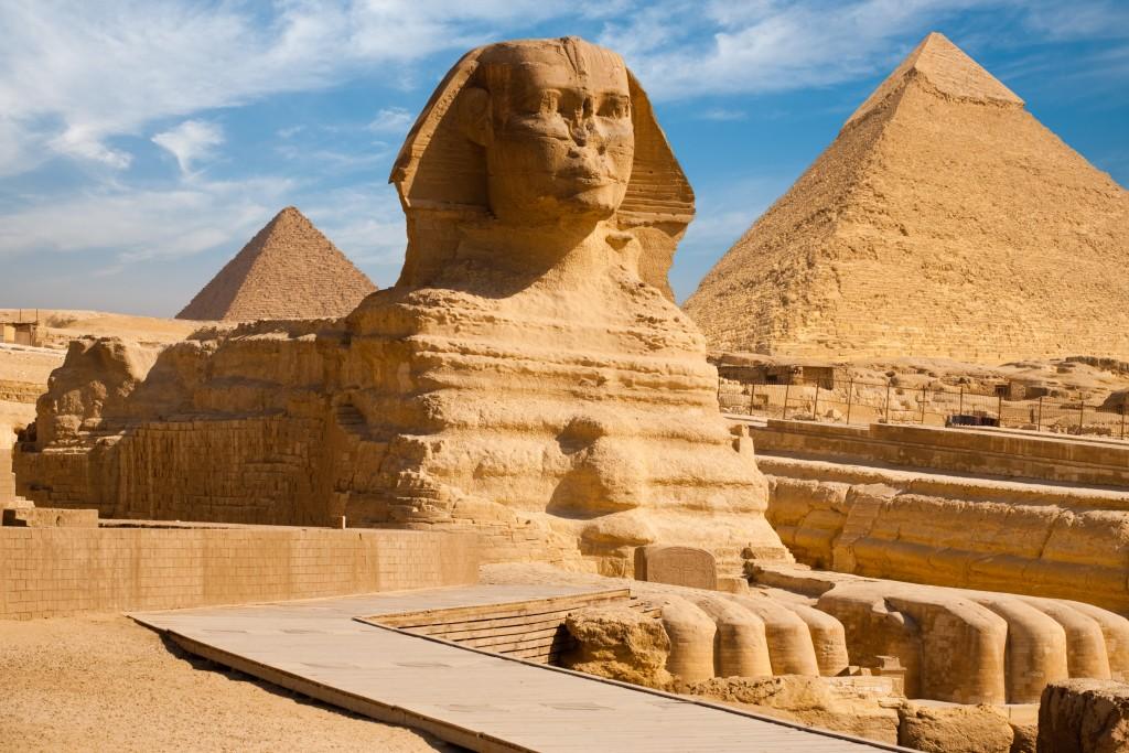 sphynx in Egypt