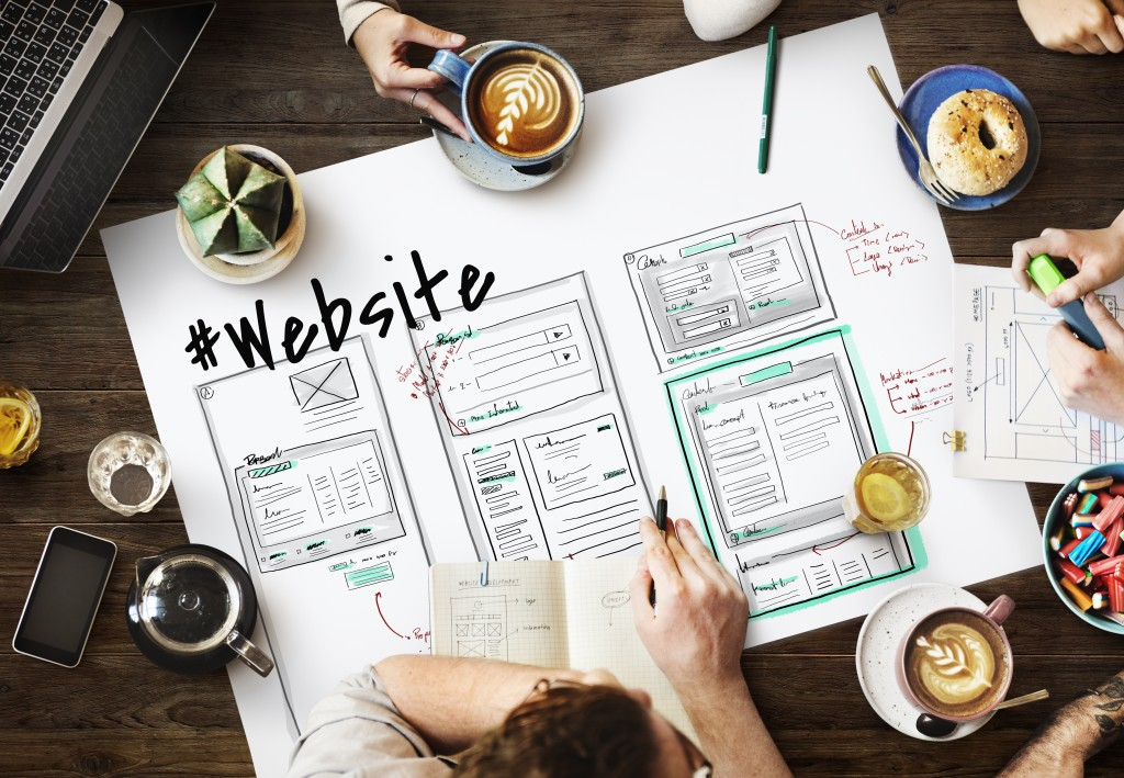 planning a website design